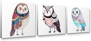 Best cute owl wall art Reviews