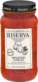 Classico Riserva Roasted Garlic Pasta Sauce (24 oz Jar)