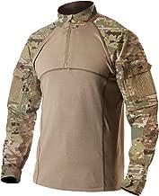 [CQR] ミリタリーシャツ [吸汗速乾・通気・耐摩耗] キャンプ 登山 サバゲー アウトドアシャツ 戦闘服 TOS201