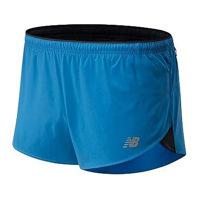 New Balance Impact Run 3-Inch Split Shorts (Mako Blue) Men
