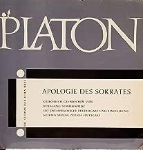 Apologie Des Sokrates Griechisch Gesprochen Von Wolfgang Schadewaldt Mit Zweisprachiger Textbeigabe Und Einfuhrung Artemis Verlag Zurich Stuttgart (