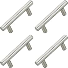 FAST FH85 SS Matte 100% Stainless Steel Hollow Cabinet Pull Handle (Hole to Hole:160 mm, Silver) -4 Pieces