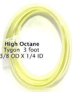 3 Feet High Octane 1/4 Yellow Fuel Line for Sight Gauge