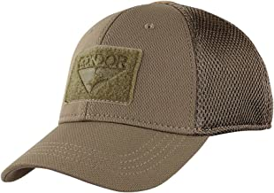 Condor Outdoor Flex Mesh Cap,Brown,Large/X-Large