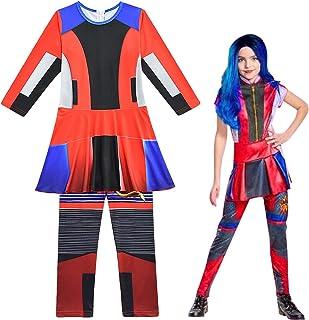 Jumpsuit Descendants 3 Audrey Costume Treat Bag Staff Wig Crown