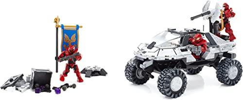 Mega Bloks Halo Warthog-Fahrzeug für Antarktis (FDY52)