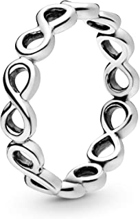 Pandora Women's Sterling Silver 925 Silver Ring, 52 EU - 190994-52