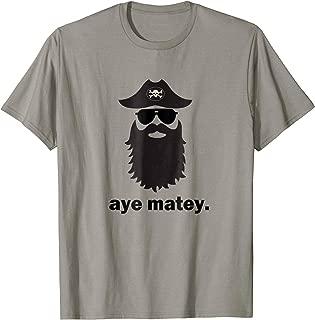 Pirate Sunglasses T-Shirt - Funny Hipster Skull Crossbones