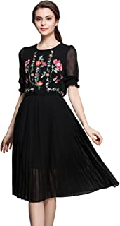Best midi embroidered dress Reviews