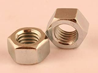 100Pcs TOUHIA 1//4-28 Machine Screw Hex Nuts Stainless Steel 18-8 Bright Finish
