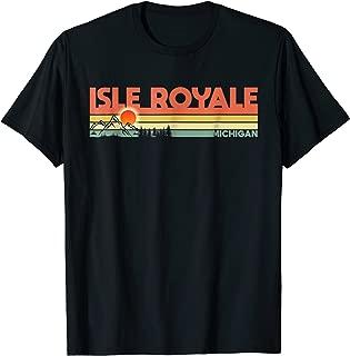 Retro Vintage Isle Royale National Park Michigan T-Shirt