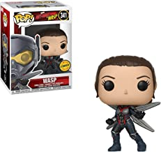 Funko Wasp (Chase Edition): Ant-Man and the Wasp x POP! Marvel Vinyl Figure + 1 Official Marvel Trading Card Bundle [#341 / 30730]