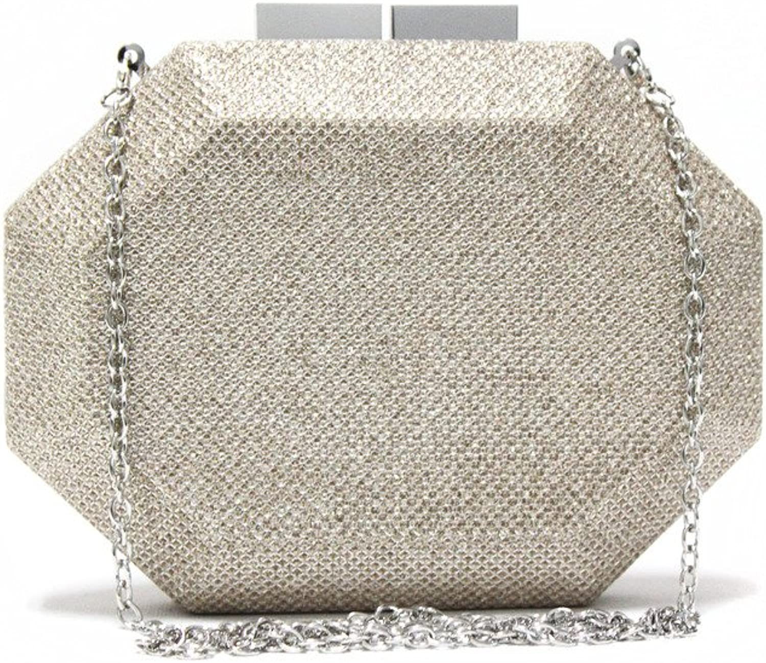 Emma Cate Young Girls Fashion Luxury Sparkle Bling Bling Party Evening Clutch Bag