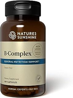 Sponsored Ad - Nature's Sunshine Vitamin B-Complex, 100 Capsules | B Complex Vitamins Nourish the Nervous System and Help ...