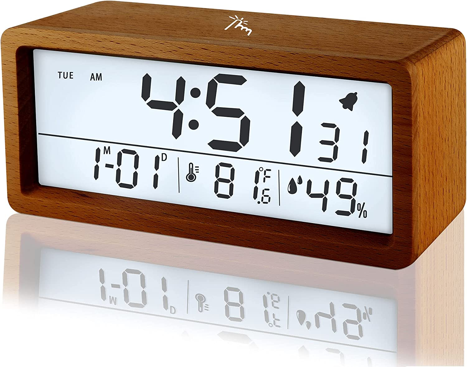 Digital Free Shipping New Alarm Many popular brands Clock Bedroom for Da Time Teens Seniors with