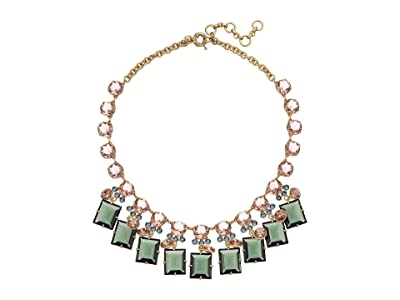 J.Crew York Square Necklace (Multicolor) Necklace