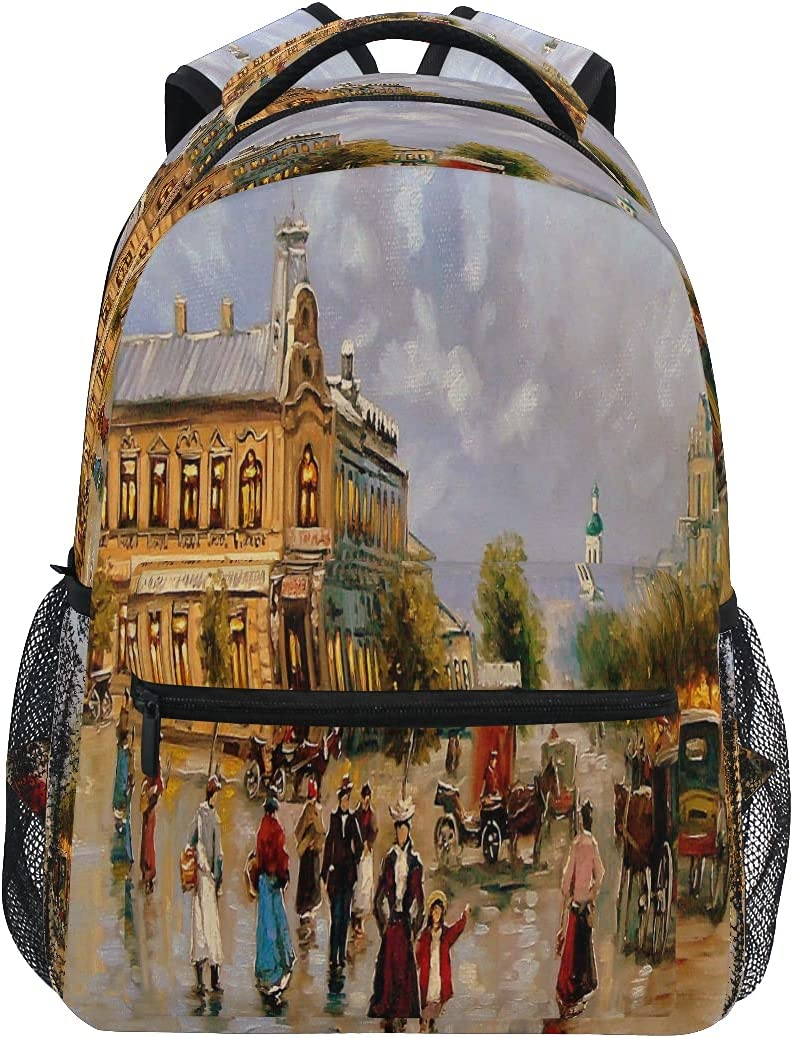 ATTX Art Regular dealer Old Town Backpack 35% OFF Travel and for Casual Women Daypacks