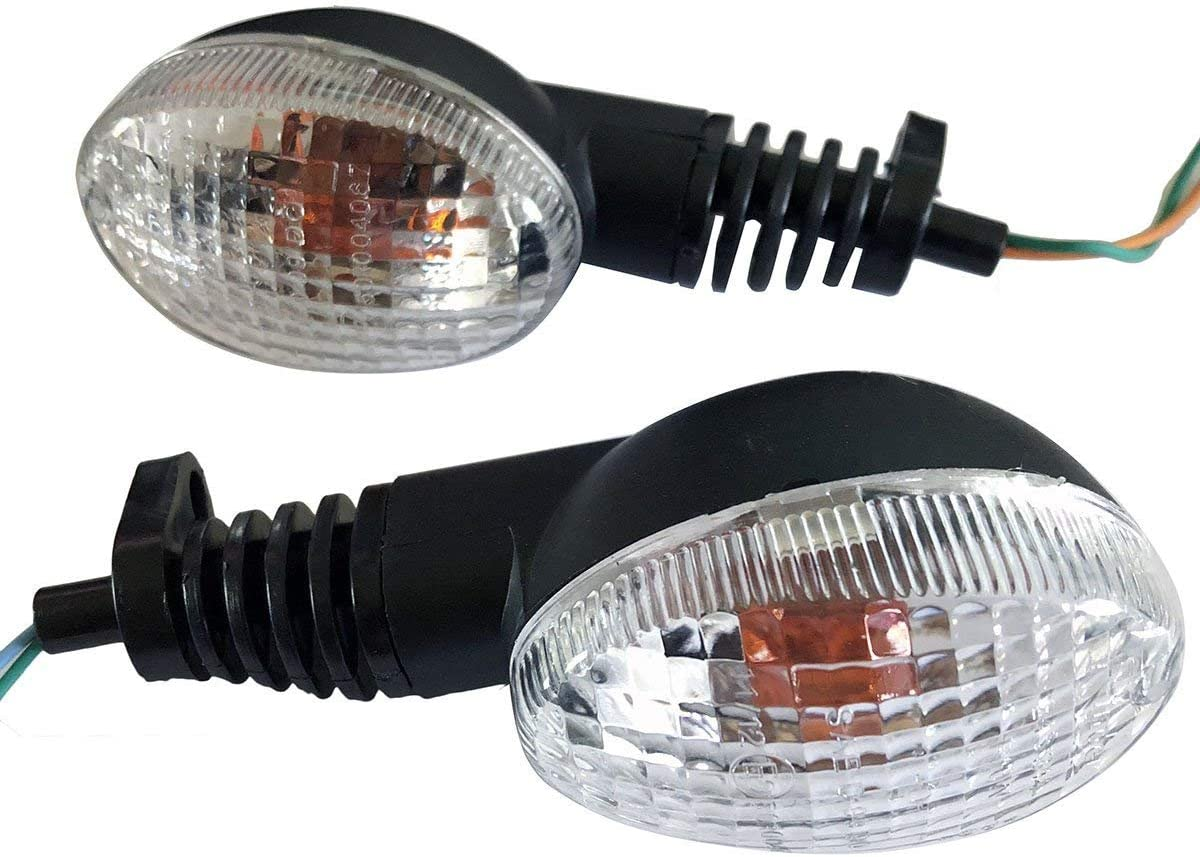 MotorTogo Rear OEM Style Turn Signals Popular product Max 64% OFF with f Assembly CLEAR Lens