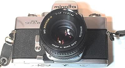 MInolta SRT-202 SLR 35mm camera with a Minolta Rokkor-X 45mm F2 lens