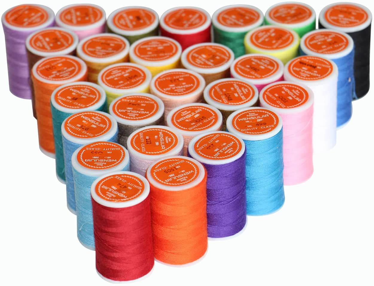 Sewing Nashville-Davidson Mall Threads Kits 30 Colors Polyester Spools Save money 200 for Yards Per