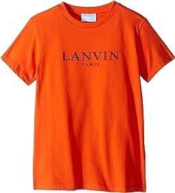 Short Sleeve Logo T-Shirt (Little Kids/Big Kids)