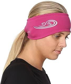 TrailHeads Women's Ponytail Headband   Moisture Wicking Ear Band   The Power Running Headband