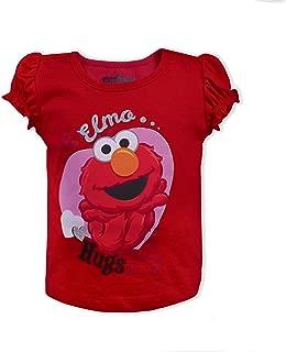 Sesame Street Girls T-Shirt: Elmo & Cookie Monster
