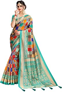 15579e08602f0c Being Banarasi Women's Silk Blend Saree with Blouse Piece(Free Size)