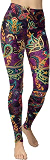 VIV Collection Women's High Waist Print Fashion Leggings Brushed Buttery Soft List 1