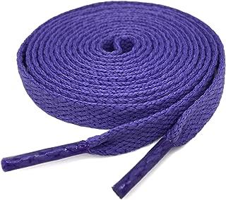 2 Pair Super Quality 24 Colors Flat Shoe laces 5/16