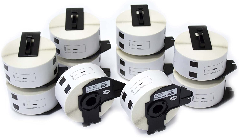Vhbw 10x Rolle Etiketten Aufkleber für Brother P-Touch QL-1050, QL-1050N, QL-1050N, QL-1050N, QL-1060, QL-1060N, QL-500, QL-500A, QL-500BS wie Brother DK-11208. B01ALIJYOI   Reichlich Und Pünktliche Lieferung  e595da