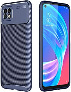 Allcecase For for oppo A73 Carbon Fiber Texture Shockproof TPU Case