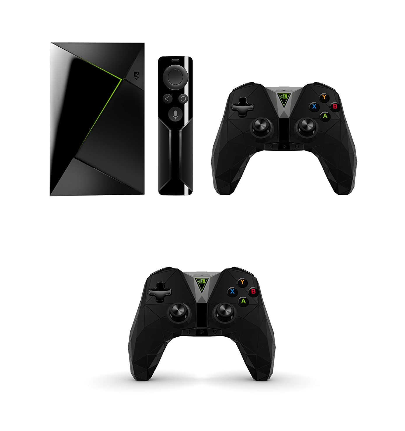 NVIDIA SHIELD TV Streaming Media Player + Extra Controller Bundle