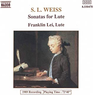Digital Booklet: Weiss, S.L.: Lute Sonatas Nos. 12 And 39 / Lute Partita In D Minor