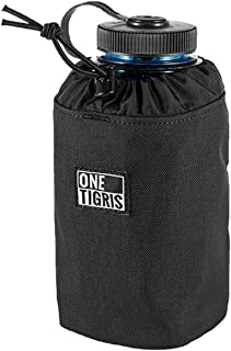 OneTigris Water Bottle Holder Bag Lightweight Molle Hydration Carrier Pouch for 32oz Nalgene Water Bottle & Oasis Canteen