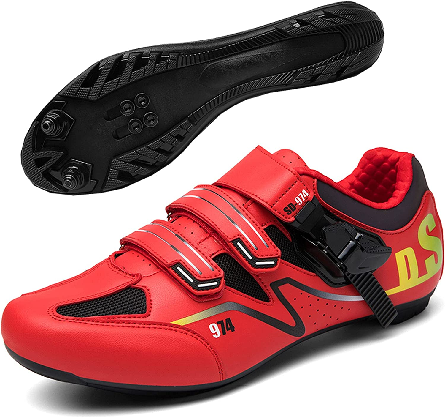 New mail order DSMGLSBB Men's Cycling Shoes Breathable Bicy Max 68% OFF Ultralight Outdoor