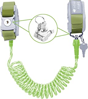 Toddler Harness Walking Leash- Child Anti Lost Wrist Link - Child Safety Harness - Upgrade with Reflective(6.5ft) - for Bo...