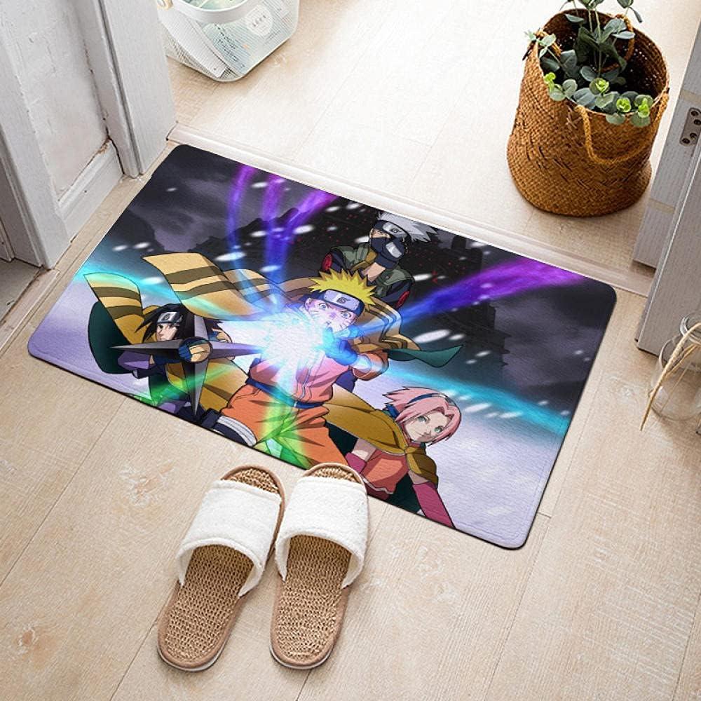 Naruto Door Mat Indoor Non Doormat Inexpensive Slip Floor OFFicial shop Absorbent M