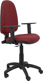 PIQUERAS Y CRESPO 04cpbali933b24–Chaise de Bureau, Couleur Bordeaux