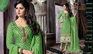 Designer Party Wear Fully Stitched Pajami Suit