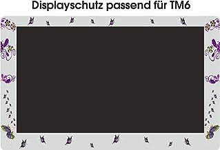 Displaybeschermfolie voor TM6 Fee bloemenranken vlinders