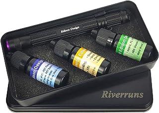 Riverruns Bonding and Welding Glue Super UV Glue Plastic, Glass and Metal UV Glue with Pen Light Most Versatile Application