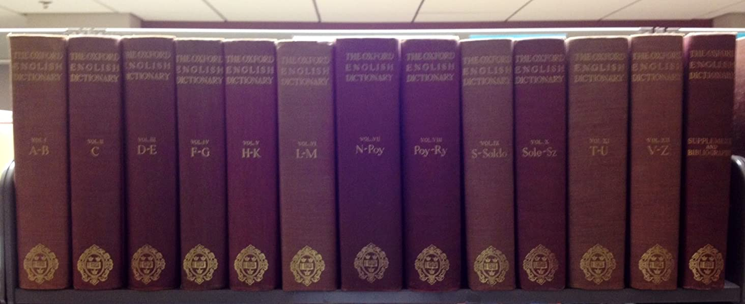 The Oxford English Dictionary: A New English Dictionary on Historical Principles (13 Volumes)