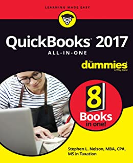 QuickBooks 2017 All-In-One For Dummies (For Dummies (Computer/Tech))