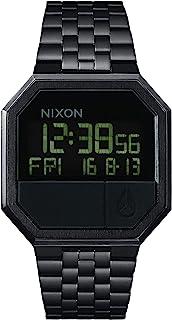 Reloj Unisex de Digital con Correa en Acero Inoxidable Chapado A158-001-00