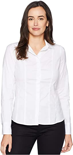 Shaped Shirt with Seam Detail