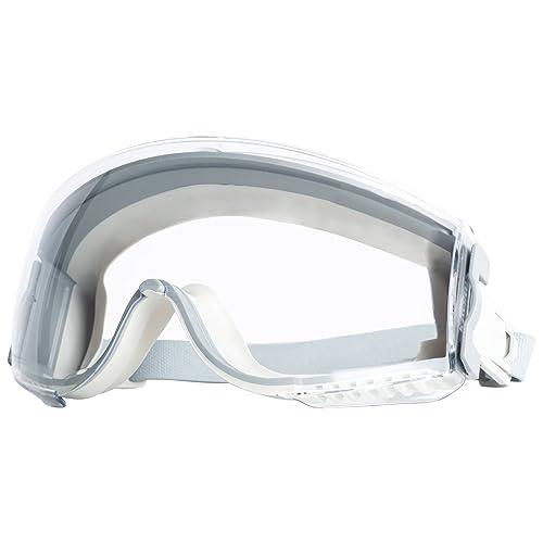 Clear Anti-Fog//Ultra-Dura Dual Black Body UVEX S390 Climazone Safety Goggles