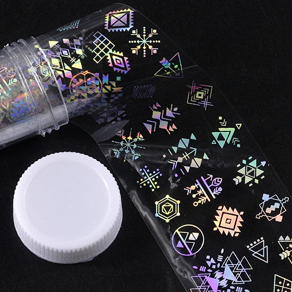 Major Design Nail Art Foil Stickers Transfer Decal Tips Manicure DIY