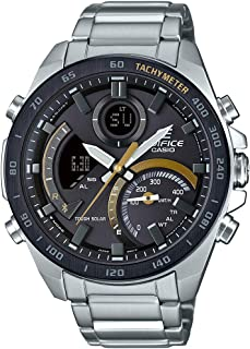 Casio Analog-Digital Black Dial Men's Watch-ECB-900DB-1CDR (EX514)