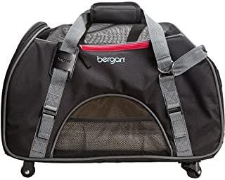 Bergan Wheeled Comfort Carrier, Black/Grey, 327